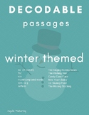 Orton-Gillingham: 6 Winter Themed Decodable Passages
