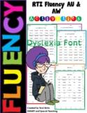 Orton Gillingham AU & AW Fluency  Dyslexia RTI