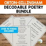 Decodable Poems: Fluency | Orton Gillingham Activities | I