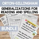 Orton-Gillingham: Reading and Spelling Generalizations | V