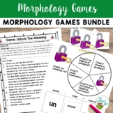 Orton-Gillingham Activities: Morphology Games Bundle