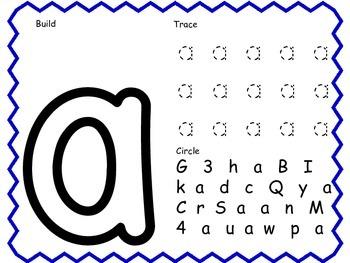 Orton Gillingham Activities for Lesson #1; Short /a/