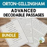 Orton-Gillingham Advanced Decodable Passages Bundle | Virt