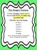 Orton Gillingham BIG Short Vowels Poster Set!