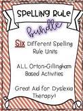Orton-Gillingham Based Spelling Bundle