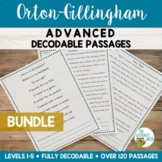 Orton-Gillingham Activities: Advanced Decodable Passages BUNDLE