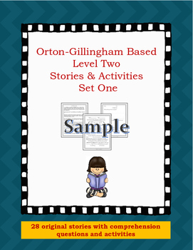 Orton-Gillingham Based Stories Level Two, Bundle Two Freebie