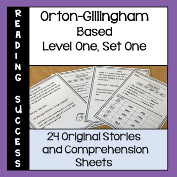 Orton-Gillingham Based Stories and Activities Level One, Set One