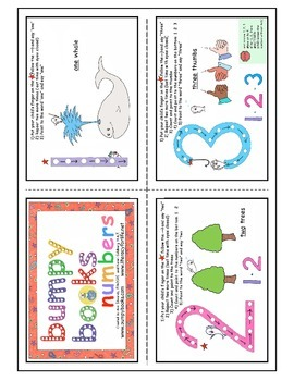 Orton-Gillingham BumpyBooks Flash Cards-Numbers