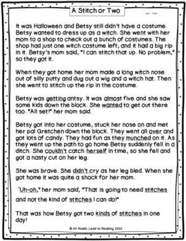 Orton-Gillingham Bundle: Decodable Stories, Comprehension Sheets  & Activities