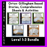 Orton Gillingham Bundle Levels 1-3