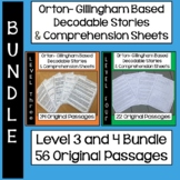 Orton Gillingham Bundle Levels 3 & 4