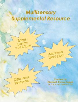 Orton Gillingham Bundle of Bundles of Higher Level Skills & Bonus Resource!