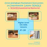 Orton Gillingham Bundles of  Higher Level Skills & Bonus R