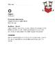 Orton Gillingham - C-Z - Dictation sheet - Letter sound Worksheet