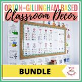 Orton-Gillingham Classroom Decor Bundle!