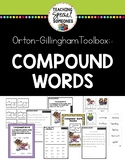 Orton Gillingham Compound Words Phonics Kit