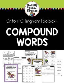 Orton Gillingham Compound Words Phonics Kit