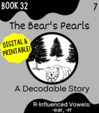 Orton-Gillingham Decodable Book 32: R-Influenced Vowels -e