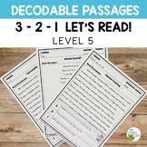 Orton-Gillingham Decodable Passages | 3-2-1 Set Level 5