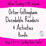 Orton-Gillingham Decodable Readers & Activities BUNDLE Ste