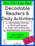 Orton-Gillingham Decodable Readers & Word Study Activities Book 3