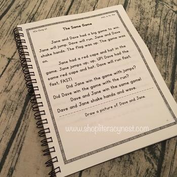 Orton-Gillingham Decodable Stories HARDBOUND BOOK