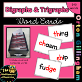 Orton-Gillingham Digraph Word Cards