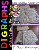 Digraphs Reading Passages & Comprehension Distance Learning Google Dyslexia RTI