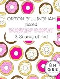 Orton-Gillingham- Donut 3 Sounds of -ed Pack Aligned