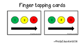 Orton Gillingham Fingertapping/Blending Cards
