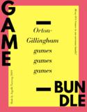 Orton-Gillingham Game Bundle