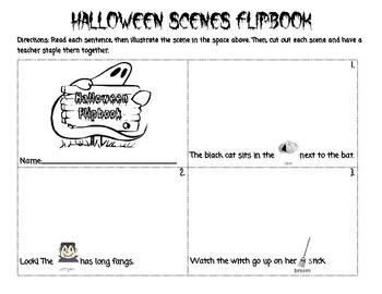 Orton Gillingham Halloween: Blends and Glued Sounds