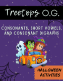 Orton Gillingham Halloween: Consonants, short vowels, and consonant digraphs