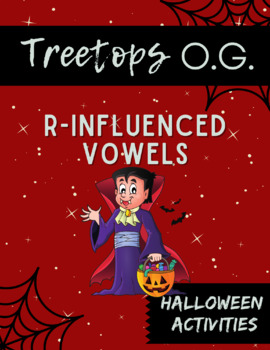 Orton Gillingham Halloween: R-Influenced Vowels