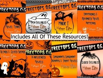Orton Gillingham Halloween: The Everything Halloween Bundle!