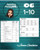 Orton-Gillingham Individualized Lessons #1-10