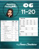 Orton-Gillingham Individualized Lessons #11-20 with Decodi