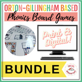 Orton-Gillingham Inspired Phonics Board Game Growing Bundle