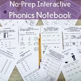 Orton Gillingham Interactive Notebook