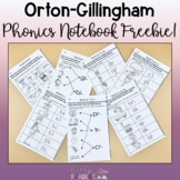Orton-Gillingham Interactive Notebook Freebie!