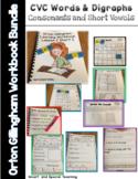 Orton Gillingham Intervention Homeschool Dyslexia Bundle CVC Words & Digraphs