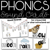 Orton Gillingham Keyword Sounds / Phonics Cards and Posters