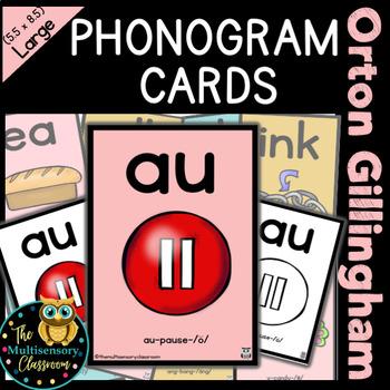 Orton Gillingham Large Sound Cards