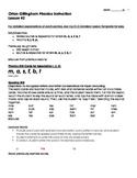 Orton-Gillingham Lesson 2: Detailed Plans for Teaching h, j, k, p, & /ĭ/