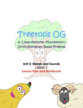 Orton Gillingham Lesson: Glued Sound -nk