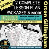 Orton Gillingham Lesson Plan Template