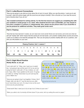 Orton Gillingham Lesson S and Z