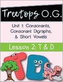 Orton Gillingham Lesson T and D