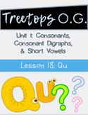 Orton Gillingham Lesson q, qu